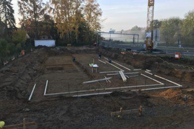 Neubau eines 12 Familienhauses in Braunschweig